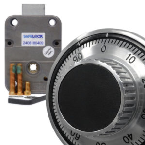 Mechanical combination safe locks and sets