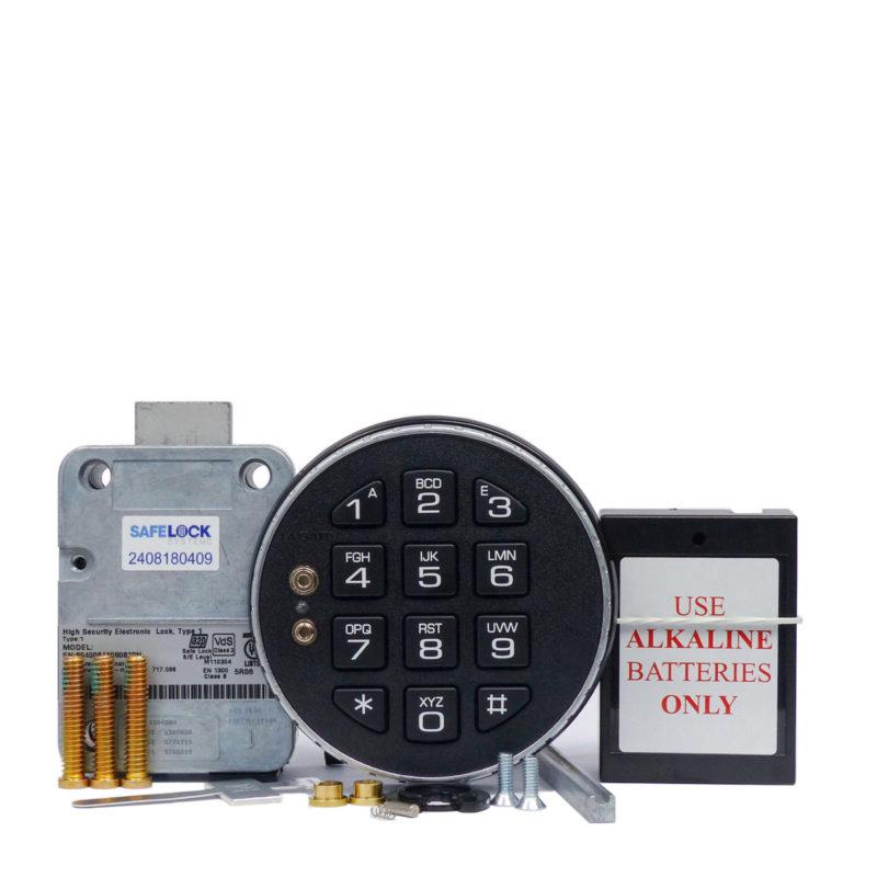 LA GARD deadbolt lock and 3035 keypad with small battery box