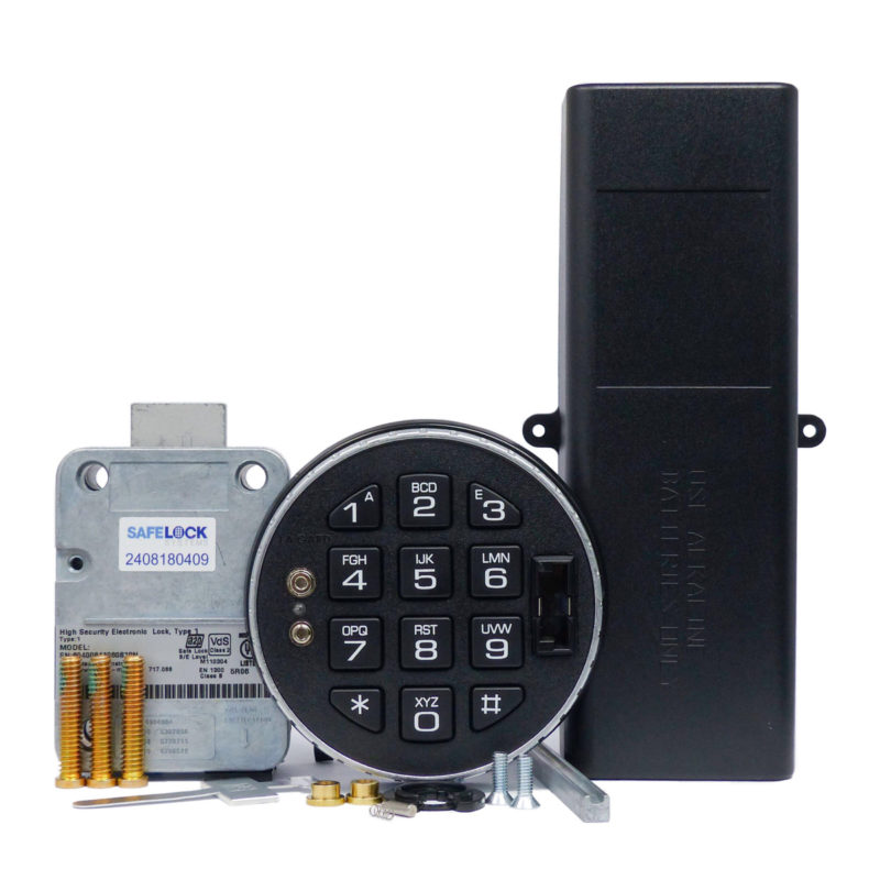 LA GARD deadbolt lock and 3125 keypad with large battery box