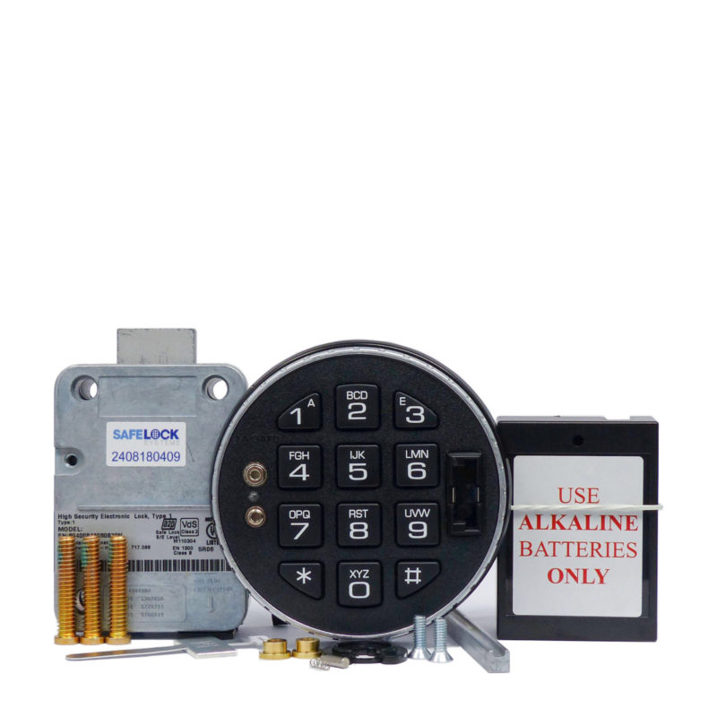 LA GARD deadbolt lock and 3125 keypad with small battery box