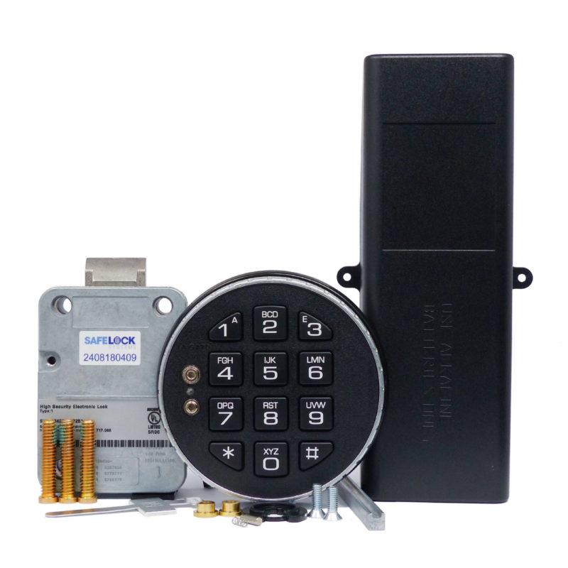 LA GARD latchbolt lock and 3035 keypad with large battery box