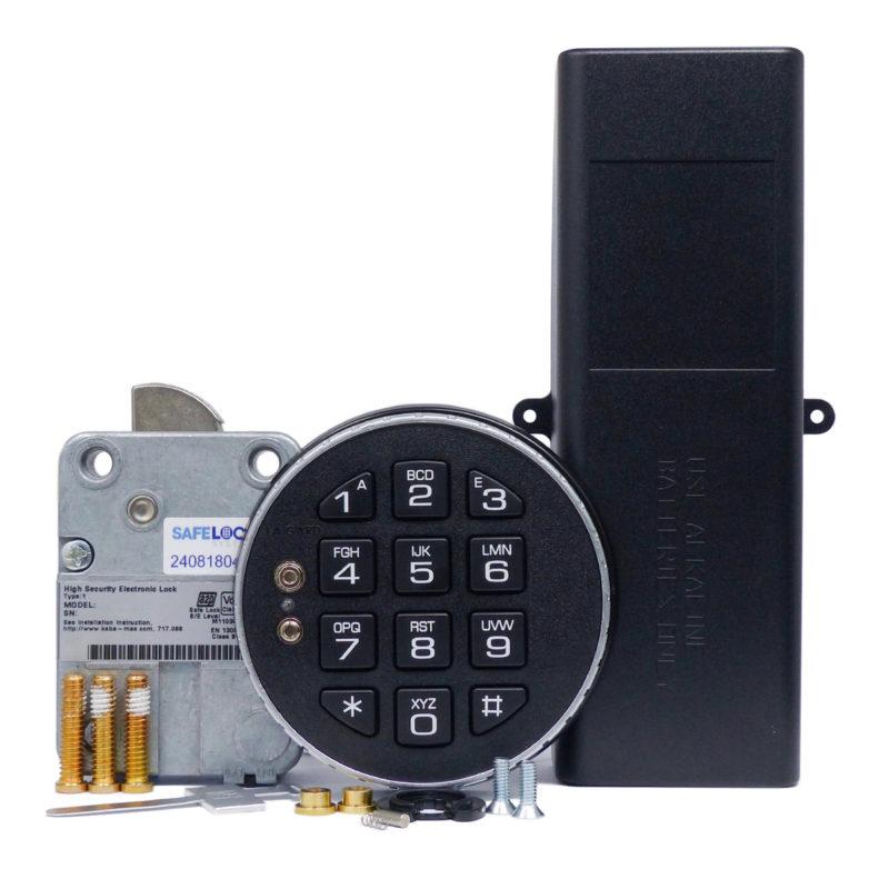 LA GARD swingbolt lock and 3035 keypad with large battery box