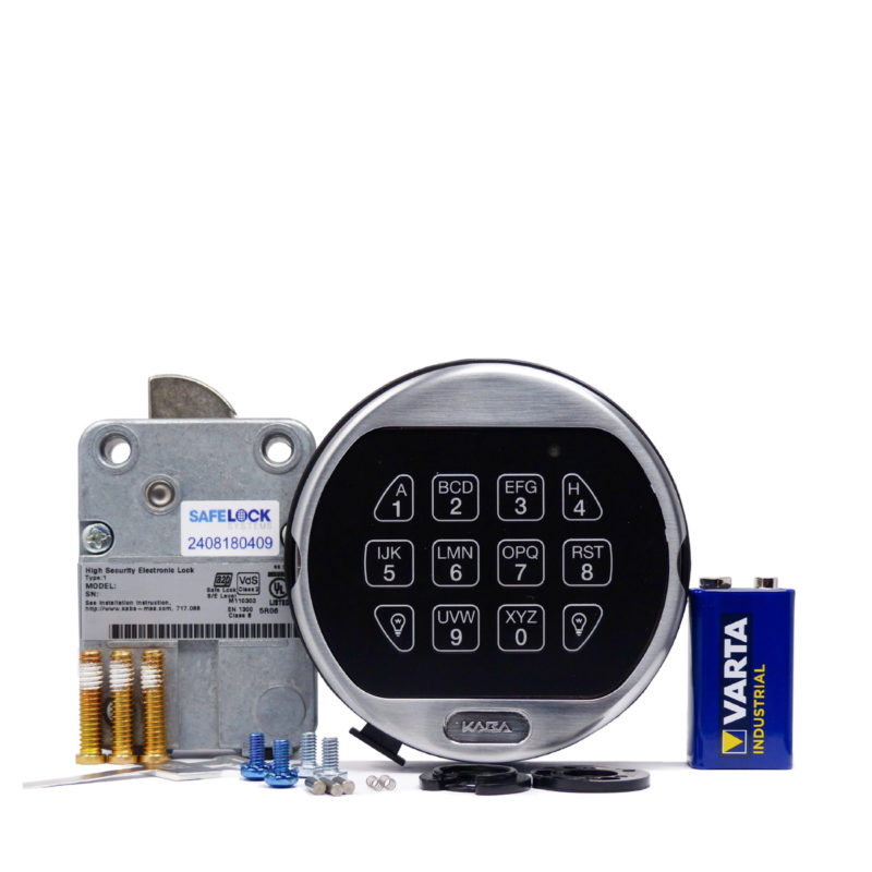 LA GARD swingbolt lock and 5750 keypad