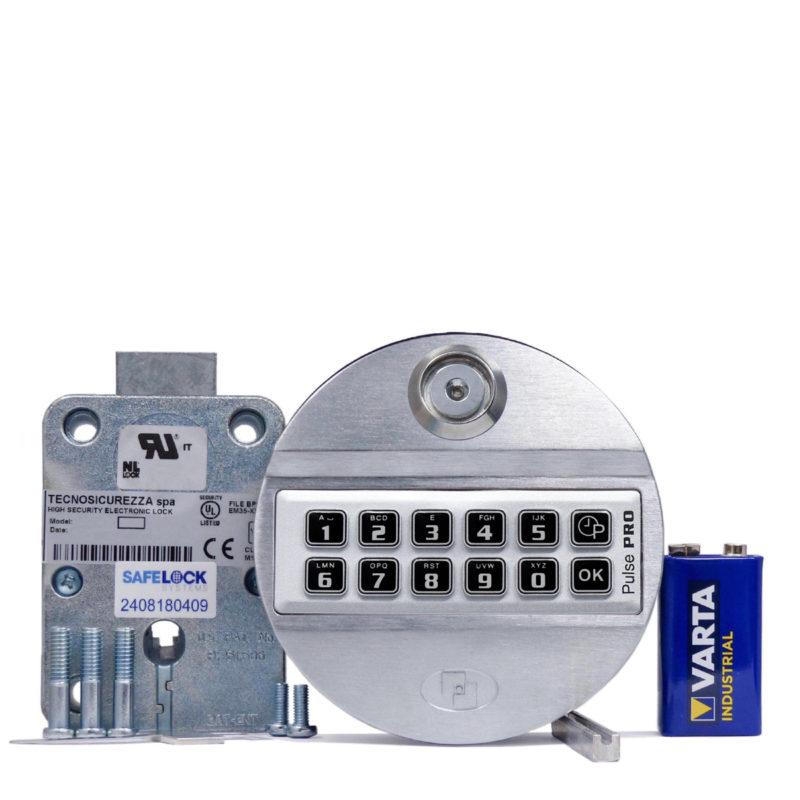 Pulse Pro keypad and deadbolt lock