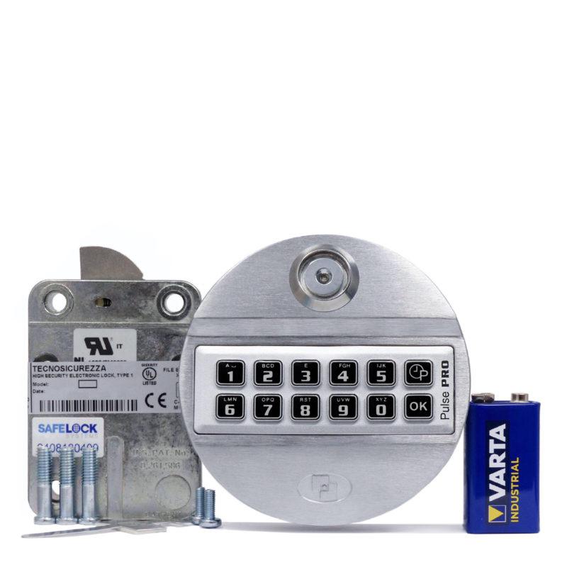 Pulse Pro keypad and swingbolt lock