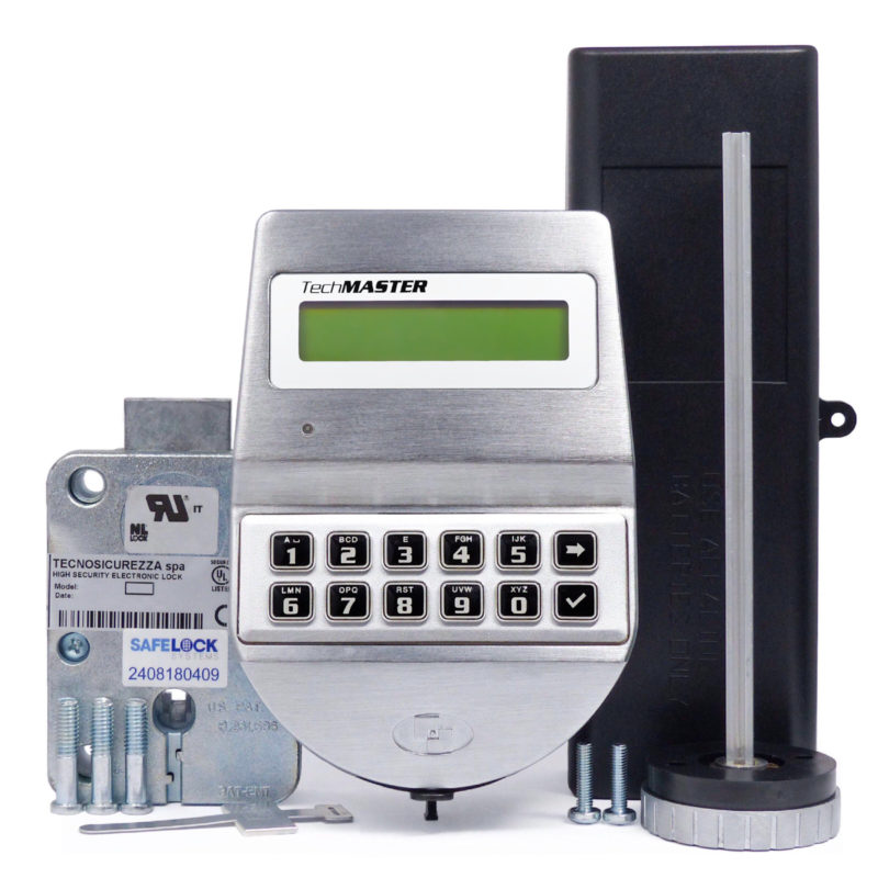 TechMaster keypad and deadbolt lock