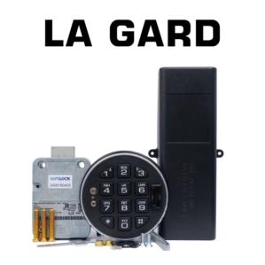 LA GARD electronic safe locks and sets