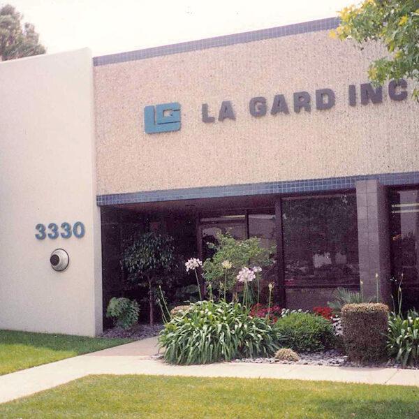 LA GARD factory in 19877