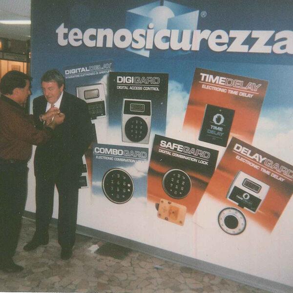 Safelock Systems Jim and Tecnosicurezza exhibition