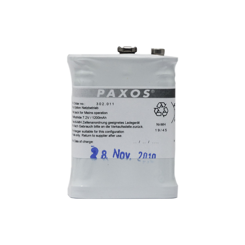 Paxos rechargeable battery pack